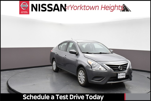 Certified Pre-Owned 2017 Nissan Versa 1.6 S